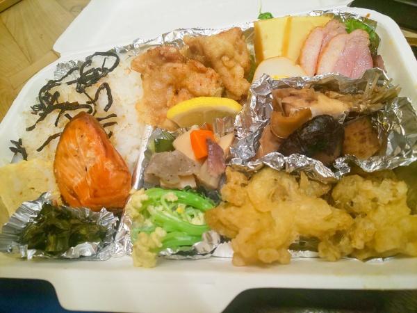 週替わり夕食弁当 1,100円(税込)
